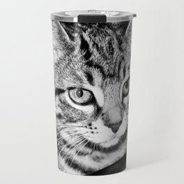 Time is what turns kittens into cats Travel Mug