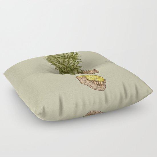 Pineapple Skull Floor Pillow