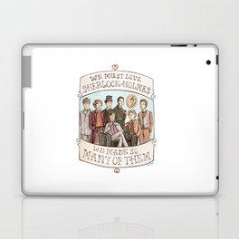 We Must Love Sherlock Holmes Laptop & iPad Skin