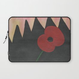 Dawn Poppy Laptop Sleeve