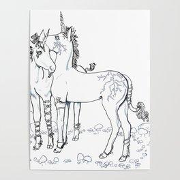 Unicorn Twins Poster