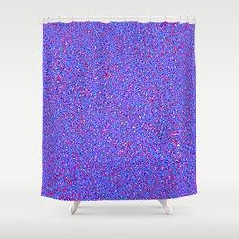 swirl globs Shower Curtain