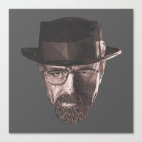 heisenberg Canvas Prints featuring Heisenberg  by malobi