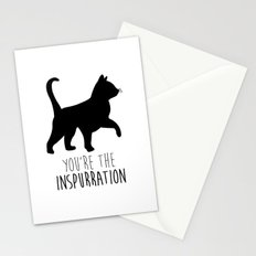 You're The Inspurration Stationery Cards