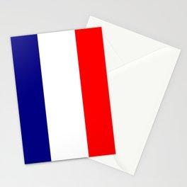flag of france 4 Stationery Cards