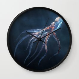 Polygon Deep Sea Octopus Wall Clock