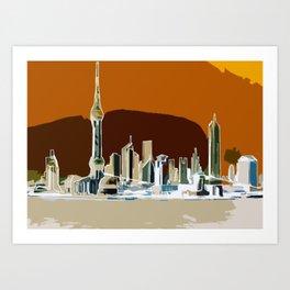 Shanghai Exposed #2 Art Print