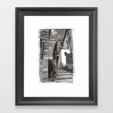 Pienze Framed Art Print