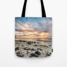 Island Sunrise Tote Bag