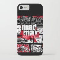 gta iPhone & iPod Cases featuring Mashup GTA Mad Max Fury Road by Akyanyme
