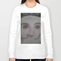 niall horan Long Sleeve T-shirts featuring Niall Horan by Alex Rosalez