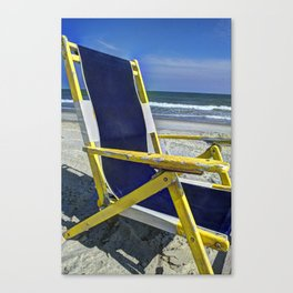 Chairman of the Beach Canvas Print