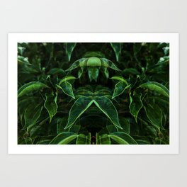 In the jungle Art Print