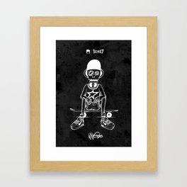 Boney Skateboarding series - 03 Framed Art Print