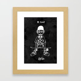 Boney Skateboarding series - 03 Framed Art Print