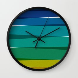 Stripes I Wall Clock