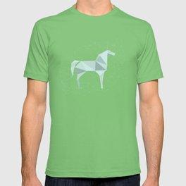Blue Horse by Frzitin T-shirt