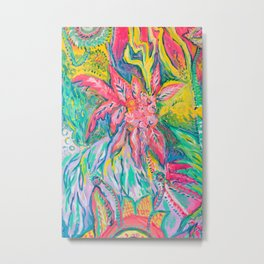 Realm of the Superweeds: Hybridising Metal Print