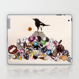 Magpie collector collage Laptop & iPad Skin