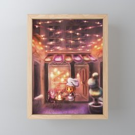 The Pumpkin Crumble - Pastry Bakery (Forever Halloween Collection) Framed Mini Art Print