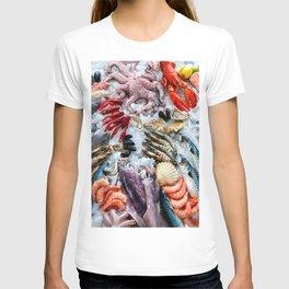seafood on ice T-shirt