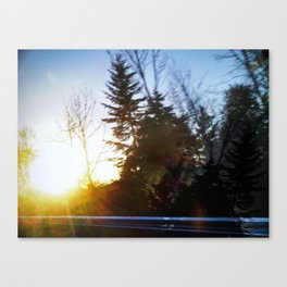 'AFTERNOON DRIVE' Canvas Print