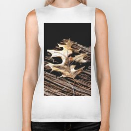 Burnished Gold in Winter Biker Tank
