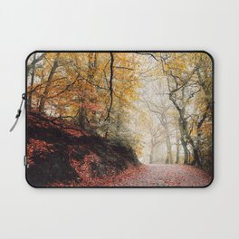Path through the Autumn Forest Laptop Sleeve
