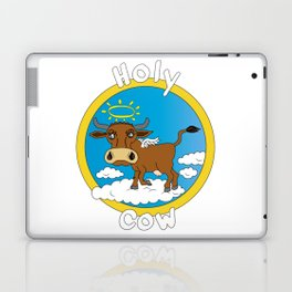 Holy Cow - What you say when surprised Laptop & iPad Skin