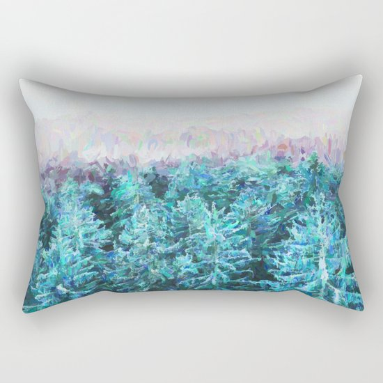 Tree Tops #society6 #buyart #decor Rectangular Pillow