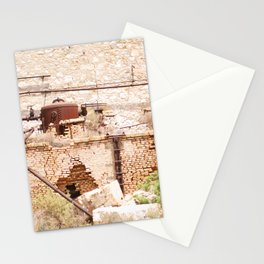 225. Abandoned Factory, Greece Stationery Cards