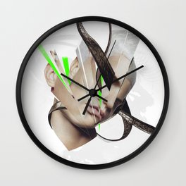 Excellence is obedience Wall Clock
