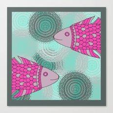 Indian Fish Canvas Print