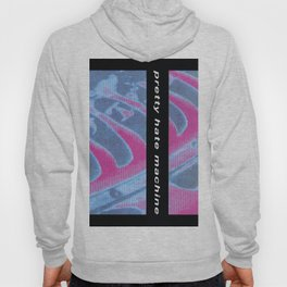Vectorized Illustration Art Design Pretty my Hate with a Inch Machine Vectored,Nails-1989 by Hand Illustrated,Nine-6700 October 20 Design Hoody