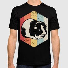 Retro 70s Guinea Pig T-shirt