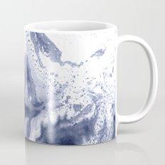 Soft Indigo Marbling Mug