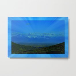 Valley Burst Metal Print
