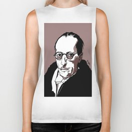 Stravinsky Russian Composer Portrait Art Wall Decor Home House Furniture Frame Music Musician Musica Biker Tank