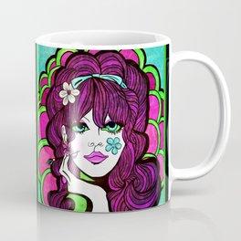 Psychedelic Flower Child Coffee Mug