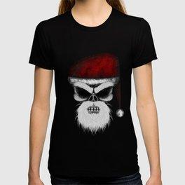Santa ErrorFace Skull T-shirt