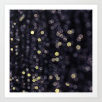 sparkles Art Prints featuring Sparkles by Scarlet