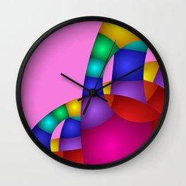 use colors for your home -14- Wall Clock