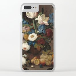 Severin Roesen Still Life Clear iPhone Case