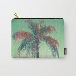 Red palm tree Carry-All Pouch