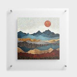 Amber Dusk Floating Acrylic Print