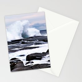 Ferocious Ocean -- Peggy's Cove, Nova Scotia  Stationery Cards