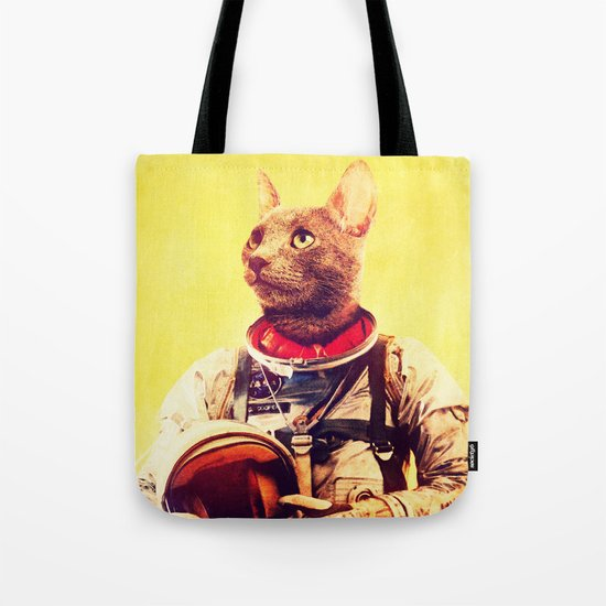 Captain Cat Tote Bag