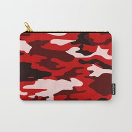 Red Camo Carry-All Pouch