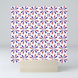 symmetric patterns 121 Mini Art Print