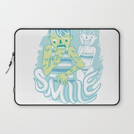 Smile It's contagious :D Laptop Sleeve